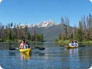 kayak tour lake dillon